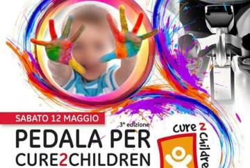 Pedala per Cure2Children Palestra Golden Club Calenzano