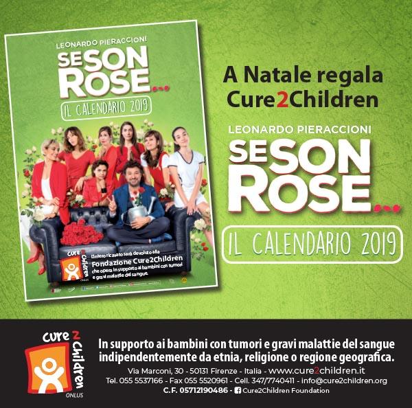 Parole Di Vita Calendario 2019.Calendario Se Son Rose Per Cure2children Fundation